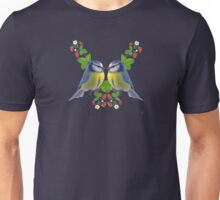Blue tits and strawberries  Unisex T-Shirt