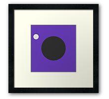 Minimalistic Gamecube Framed Print