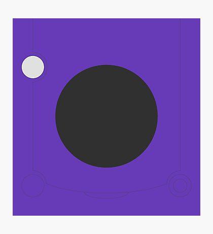 Minimalistic Gamecube Photographic Print