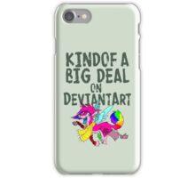 Kindof a big deal on DA - queen sparkledog iPhone Case/Skin