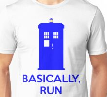 Basically, Run Unisex T-Shirt