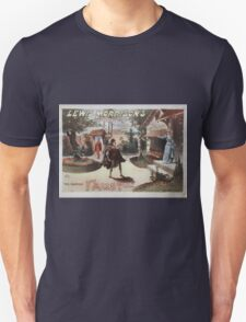 Performing Arts Posters Lewis Morrisons magnificent new Faust 0673 Unisex T-Shirt