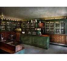Pharmacy - The Chemist Shop  Photographic Print