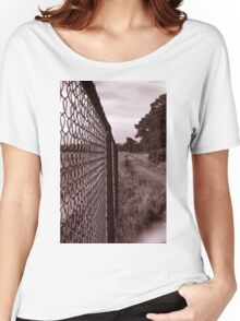 The Chain-link fence Women's Relaxed Fit T-Shirt