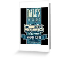 Dale's Walker Tours Greeting Card
