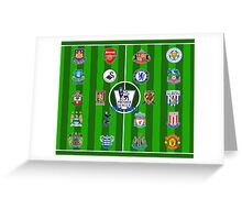 EPL~English Premier League 2014~2015 Greeting Card