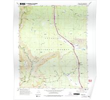 USGS TOPO Map Arizona AZ Munds Park 312559 1965 24000 Poster