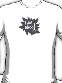I Am Groot! - Gray T-Shirt