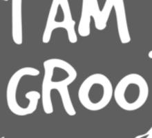 I Am Groot! - Gray Sticker