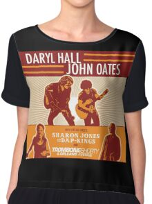 daryl hall & john oates tour 2016 Chiffon Top