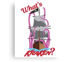 What's Kraken? Canvas Print