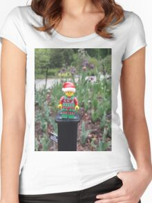 Brickography - Spring Women's Fitted Scoop T-Shirt