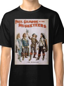 Performing Arts Posters Paul Gilmore in The musketeers 2021 Classic T-Shirt