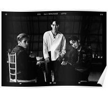 Exo Lotto - Chen, Xiumin, Kai Poster
