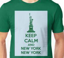 Keep Calm And New York New York Unisex T-Shirt