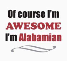 Alabama Is Awesome Kids Tee