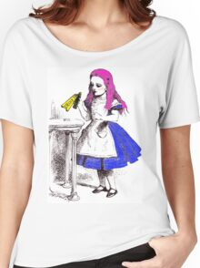 Electric Alice - Drink Me Women's Relaxed Fit T-Shirt