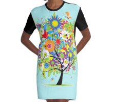 ARTY Graphic T-Shirt Dress