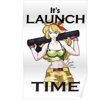 Launch Time Poster