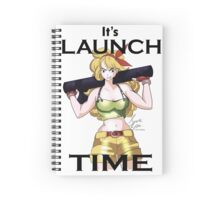 Launch Time Spiral Notebook