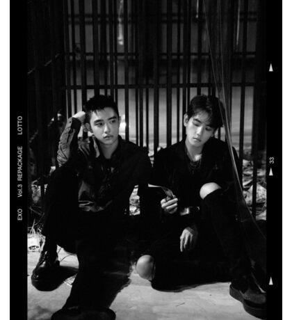 Exo Lotto - Baekhyun & D.O Sticker