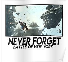 Never Forget: Battle of New York Poster
