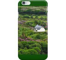 Irish cottage in the hills iPhone Case/Skin