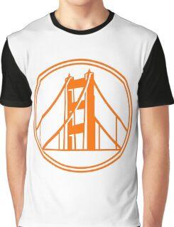 Golden Gate Golden State Graphic T-Shirt