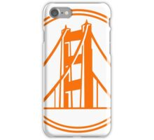 Golden Gate Golden State iPhone Case/Skin
