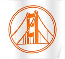 Golden Gate Golden State Poster