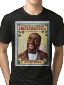 Performing Arts Posters Richards Pringles Famous Minstrels 0229 Tri-blend T-Shirt