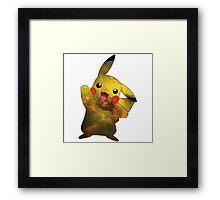 Pikachu - Pokemon Framed Print
