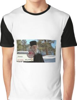 Brother Nathanael: Blank Check Graphic T-Shirt