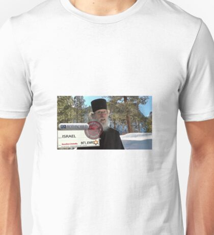 Brother Nathanael: Blank Check Unisex T-Shirt