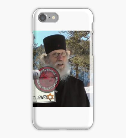 Brother Nathanael: Blank Check iPhone Case/Skin