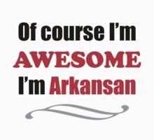 Arkansas Is Awesome Kids Tee