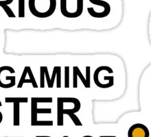 Glorious PC Gaming Master Race Sticker