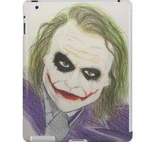 Super Villain Illustration 1 iPad Case/Skin