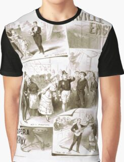 Performing Arts Posters Saville English Opera Company 1817 Graphic T-Shirt