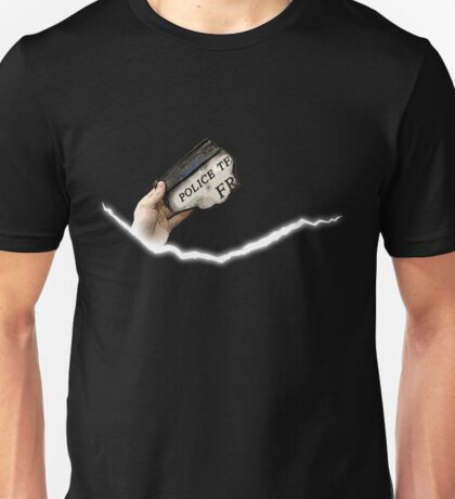 A New Perspective on a Crack in Time Unisex T-Shirt