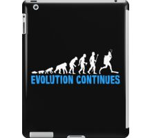 Funny Scuba Diving Evolution Continues iPad Case/Skin