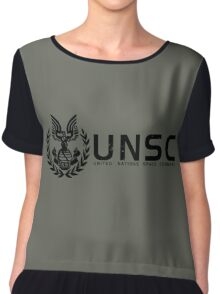 Halo - United Nations Space Command Chiffon Top
