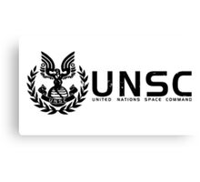 Halo - United Nations Space Command Canvas Print
