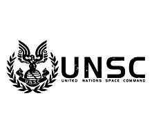 Halo - United Nations Space Command Photographic Print