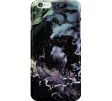 Ghostly wave abstract painting iPhone Case/Skin