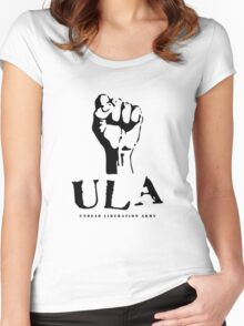 undead liberation army Women's Fitted Scoop T-Shirt