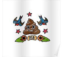 Ha // Emoji Tattoo Series Poster