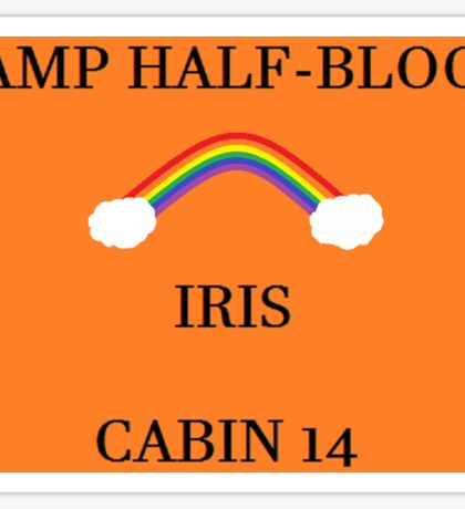Camp Half-Blood Iris Cabin #2 Sticker