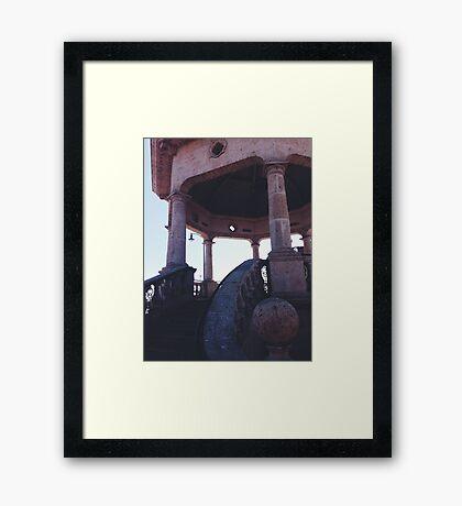 mariachi plaza station Framed Print