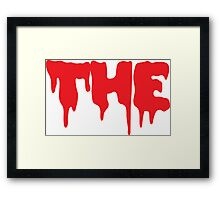 """THE"" From The Rocky Horror Picture Show Framed Print"